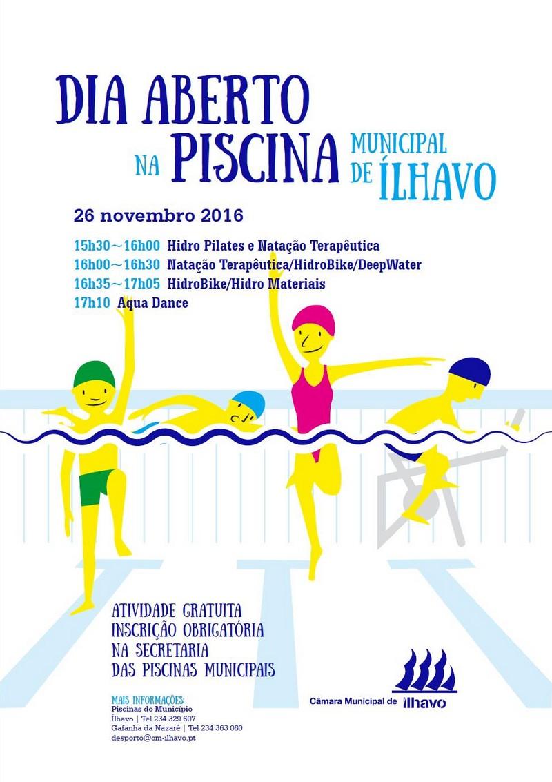 Aqua fitness c m lhavo for Piscina municipal de ilhavo